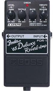 Boss FDRf-1 Fender 65 Deluxe Reverb