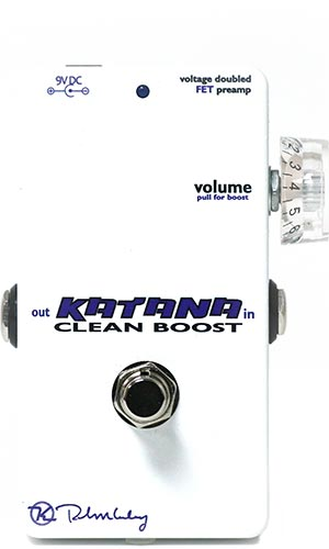 Keeley katana clean boost