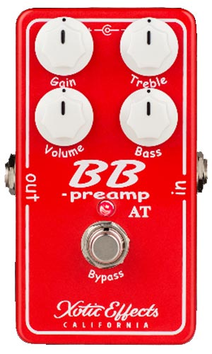 Xotic BB PREAMP Andy Timmons