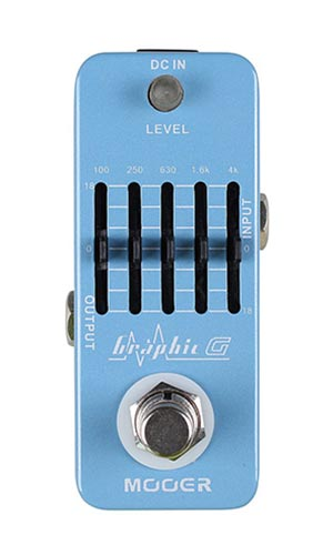 Mooer Graphic G 5-Band Guitar EQ Pedaal