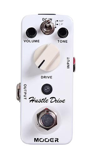 Mooer Hustle Drive Distortion Pedaal