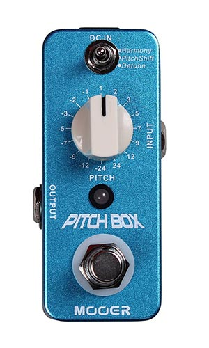 Mooer Pitch Box Pedaal