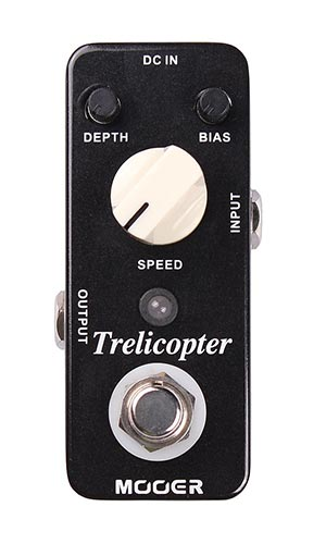 Mooer Trelicopter Optical Tremolo Pedaal