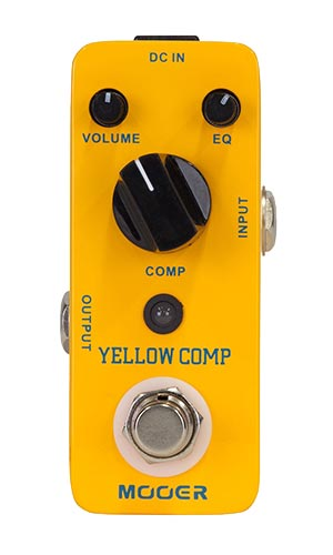 Mooer Yellow Comp Compressor Pedaal