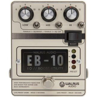 Walrus Audio EB-10 Wit