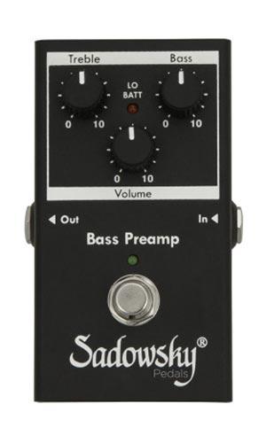 Sadowsky SPB-2 Bass Preamp