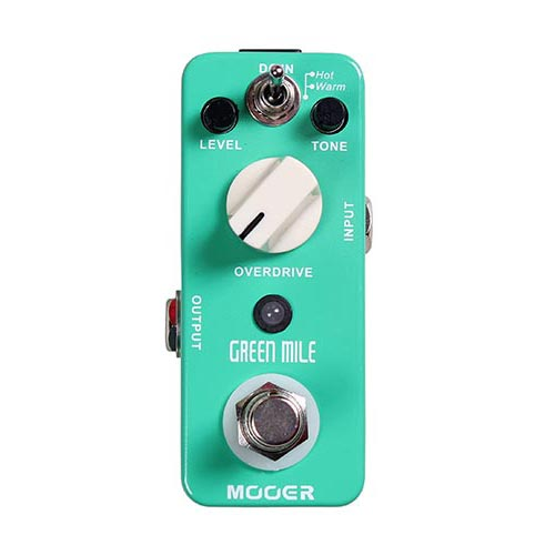Mooer Green Mile Overdrive Pedaal