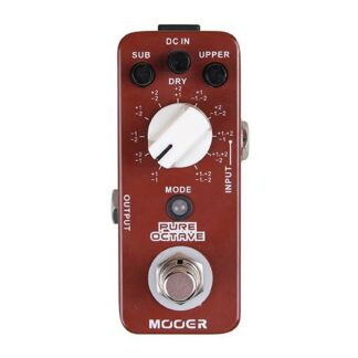 Mooer Pure Octave Pedaal