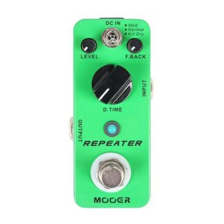 Mooer Repeater Digital Delay Pedaal