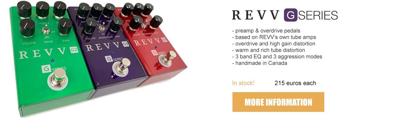 revv g series pedals