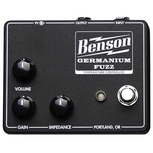 Benson Germanium Fuzz Black
