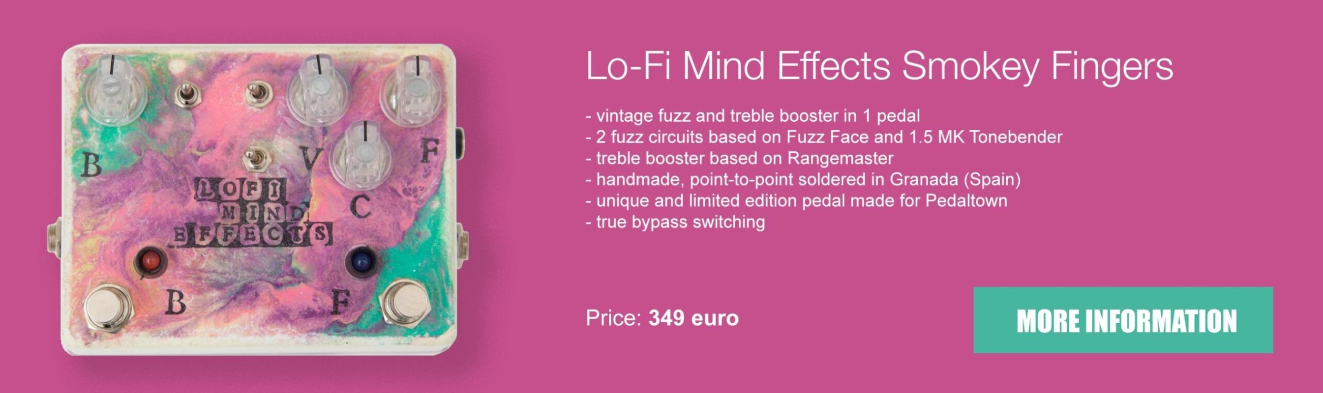 Lo-Fi Mind Effects Smokey Fingers